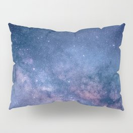 Milky Way Stars (Starry Night Sky) Pillow Sham