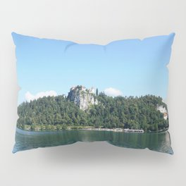 Swans in Bled Pillow Sham