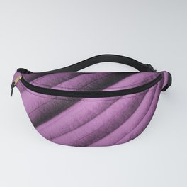 Purple Leaf Fanny Pack