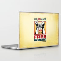 aelwen Laptop & iPad Skins featuring FREE INDEED! by Peter Gross