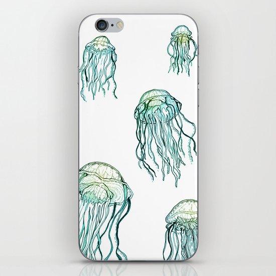 Jellyfish dreams iPhone & iPod Skin