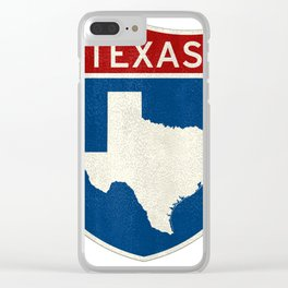 Welcome to Texas Clear iPhone Case