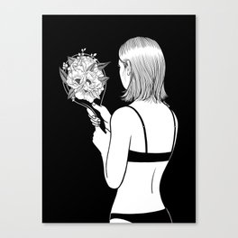 Fall in love with myself first Canvas Print