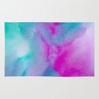 aurora Area & Throw Rugs featuring Aurora by elena + stephann