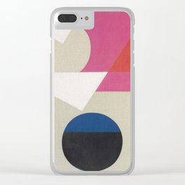 Frederick Hammersley 4 Clear iPhone Case