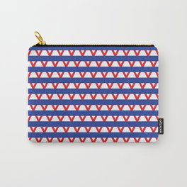 Paranoia (Blue and Red) Carry-All Pouch