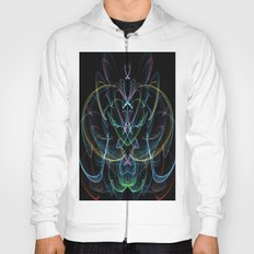 Digital Lotus Flower Hoody