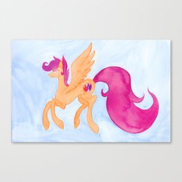 Scootaloo Canvas Print