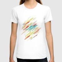 sweater T-shirts featuring 80's Sweater by Jacqueline Maldonado