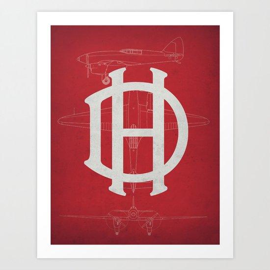 De Havilland (Comet) Art Print