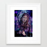 amy pond Framed Art Prints featuring Amy Pond by Sirenphotos
