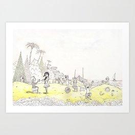 Grains of Fun Art Print