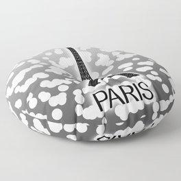 Paris: City of Light, Eiffel Tower Floor Pillow