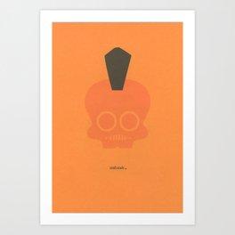 skulawk Art Print