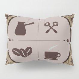 dark roast cafe/coffee art Pillow Sham