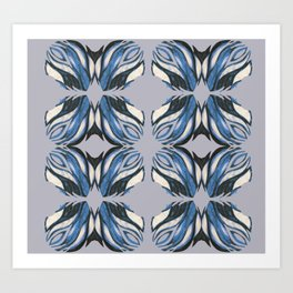 Abstract Wings Art Print