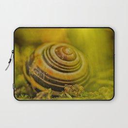 Beautiful Snail shell Laptop Sleeve