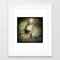 doll Framed Art Prints featuring Doll by Jean-François Dupuis