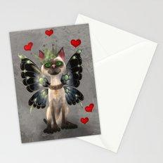 Majestic cat Stationery Cards