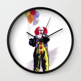 You All Taste So Much Better When You're Afraid Wall Clock