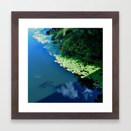 Water Exam Piece Framed Art Print