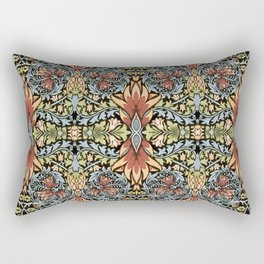 "William Morris ""Snakeshead"" Rectangular Pillow"