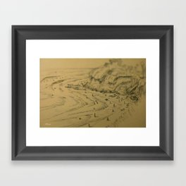 Swamis Sketch Framed Art Print