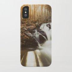 Autumn waterfall II Slim Case iPhone X