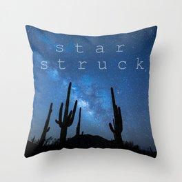 STAR STRUCK Throw Pillow