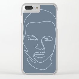 Solemn Clear iPhone Case