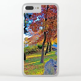 Colors of Autumn by the Lagoon Clear iPhone Case