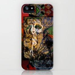 Captured Fragments iPhone Case
