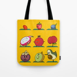 Super Fruits Yoga Tote Bag