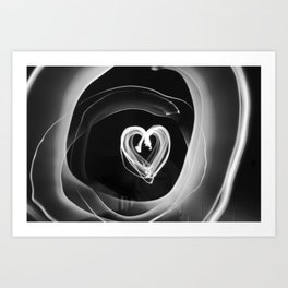 Ribbons of Light Art Print