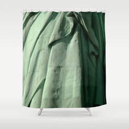 Lady Liberty's Robe #2 Shower Curtain