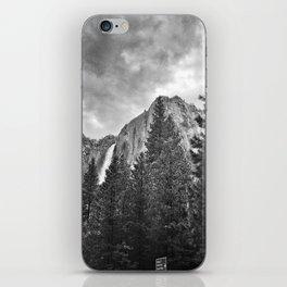 Yosemite Falls Before a Storm iPhone Skin