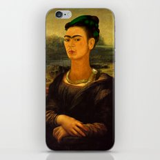 Frida Kahlo's Mona Lisa iPhone Skin