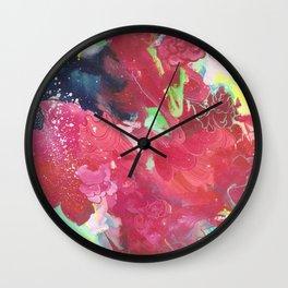 Rosarium Wall Clock
