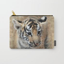 Tiger cub emerging Carry-All Pouch