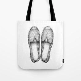 Summer Espadrilles Tote Bag