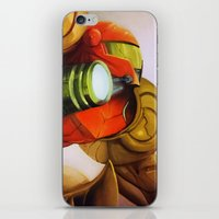 metroid iPhone & iPod Skins featuring Metroid by JeyJey Artworks