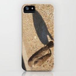 Shadow Bird iPhone Case