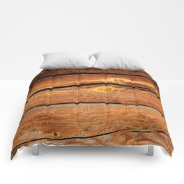 Rustic Wooden Planks  Wood Board Country Gifts Comforters