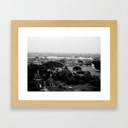 1000 temples Framed Art Print