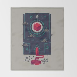 It was built for us by future generations Throw Blanket