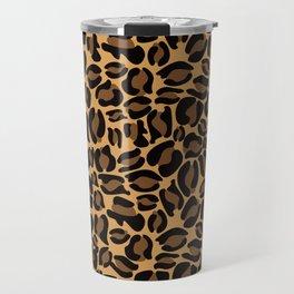 Leopard Print | Cheetah texture pattern Travel Mug