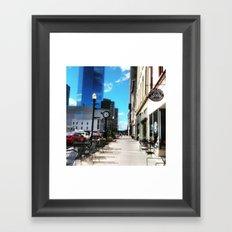 Spring Day In Downtown Lexington, Ky Framed Art Print