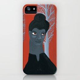 Ida B Wells portrait iPhone Case