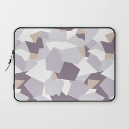 Violet abstract forms Laptop Sleeve
