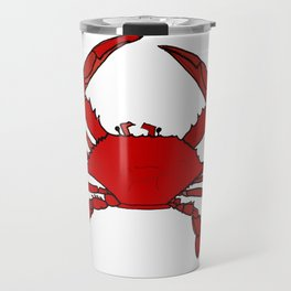 Getting Crabby Travel Mug